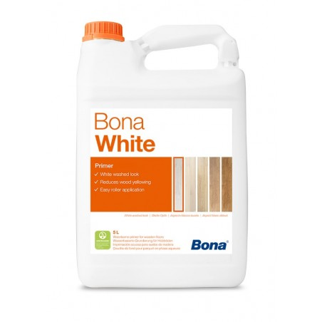 Bona Grund parchet WHITE (ALB) 5L